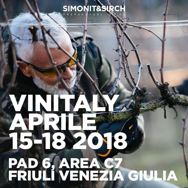 Simoni&Sirch a Vinitaly 2018
