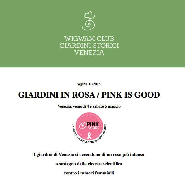 GIARDINI IN ROSA / PINK IS GOOD