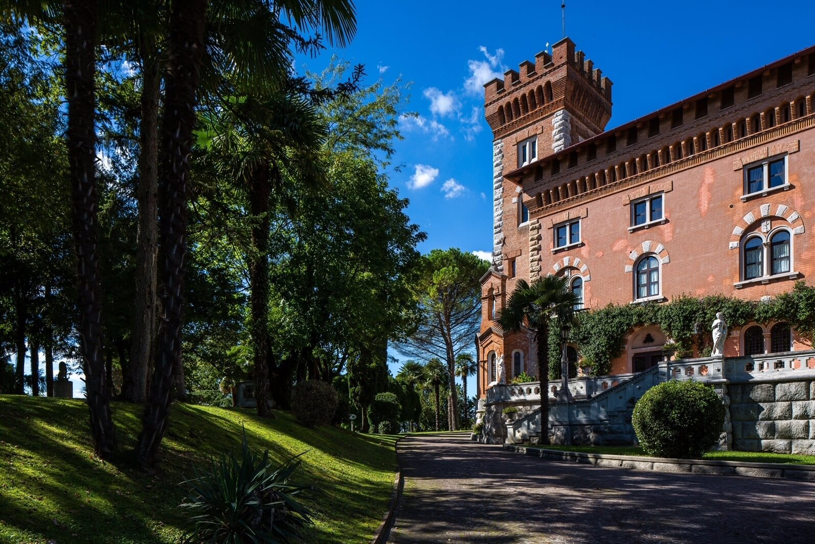 Il Castello di Spessa di Capriva del Friuli  fra le location in cui è stata girata la fiction Il Confine in onda su Rai 1 il 15 e 16 maggio
