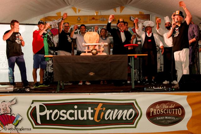 Prosciuttiamo, la gran festa del prosciutto crudo Saint Marcel