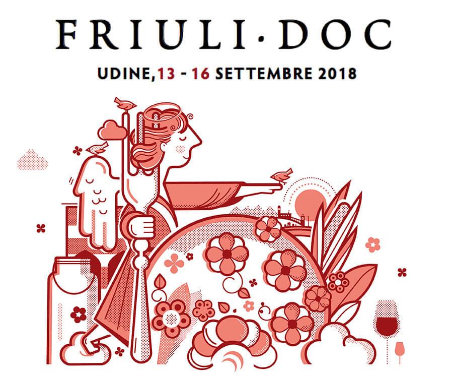 Le delegazioni del Friuli Venezia Giulia dell'AccademiaItaliana della Cucina e la Società Filologica Friulana al Friuli DOC 2018