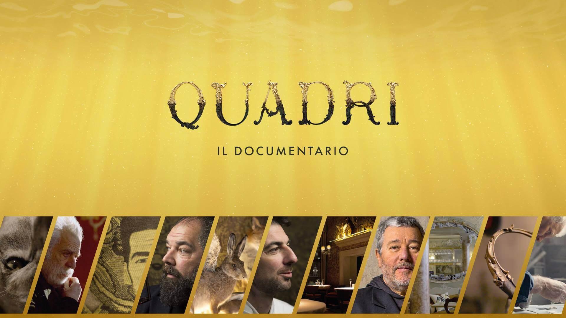 """""""Quadri: il documentario"""" oggi in diretta streaming"""