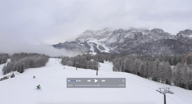 La neve è arrivata sulle piste della Regina delle Dolomiti!