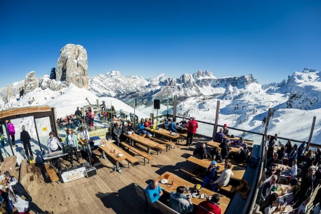 Montagna gourmet: la stagione dei rifugi di Skipass Cortina