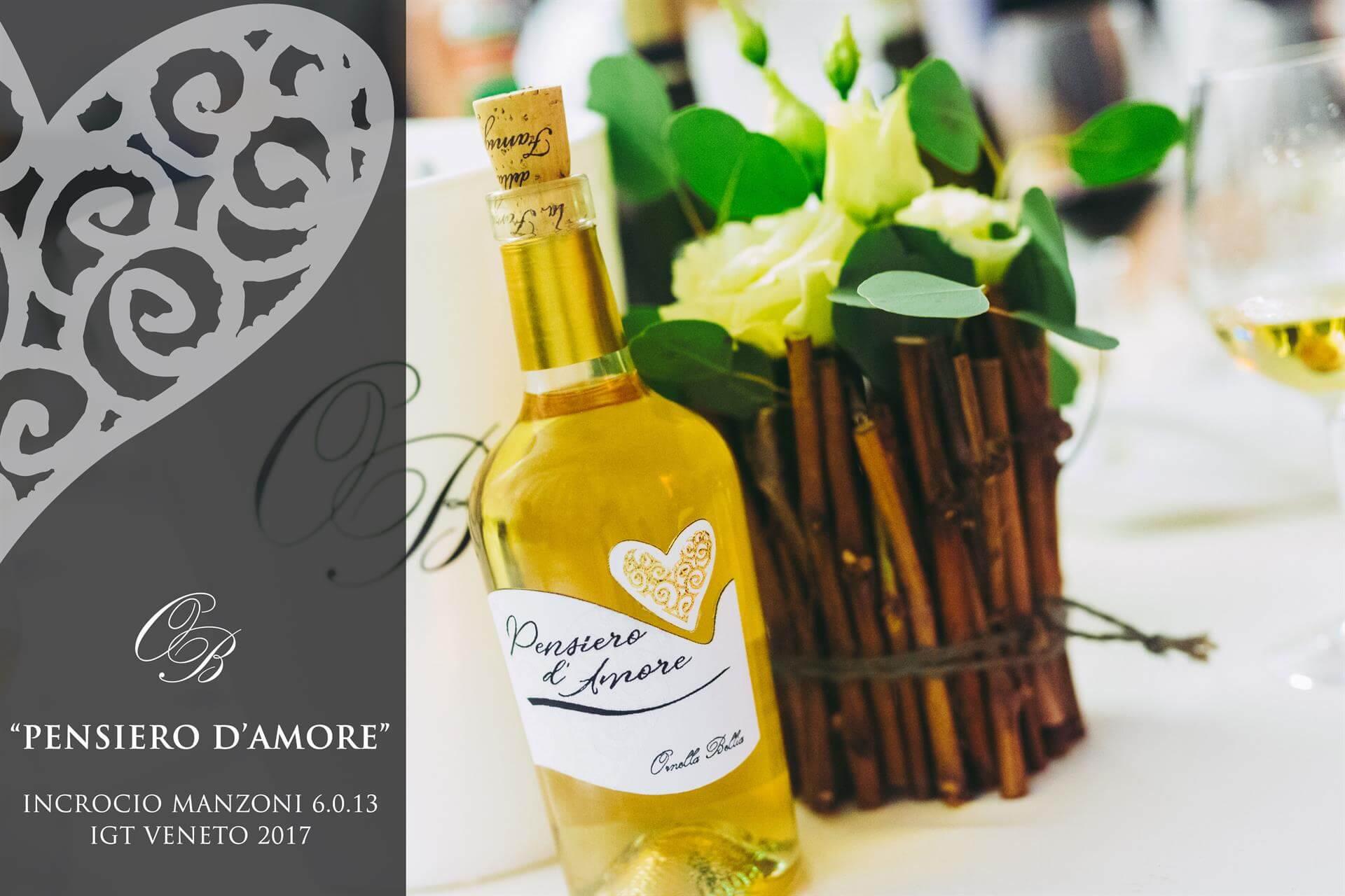 """Nasce il primo vino passito di INCROCIO MANZONI 6.0.13 """"PENSIERO D'AMORE"""""""