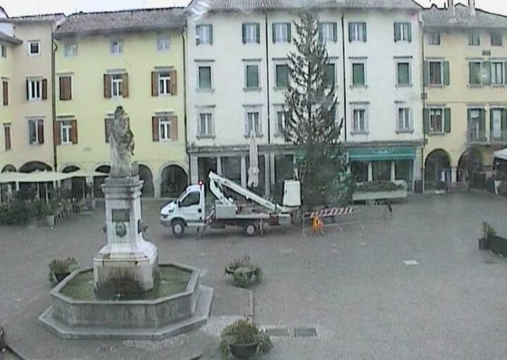 L'8 dicembre accensione dell'abete carinziano a Cividale