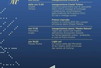 INVITO | Cortina, 8 dicembre 2018 | Inaugurazione delle nuove piste Col Druscié, teatro dei prossimi Mondiali del 2021