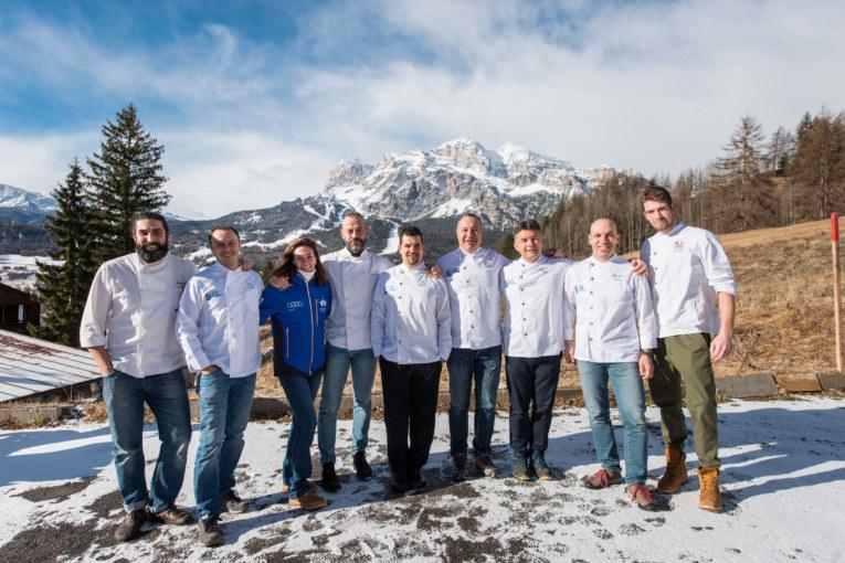 """Coppa del Mondo, la """"valanga azzurra"""" dei ristoratori di Cortina"""