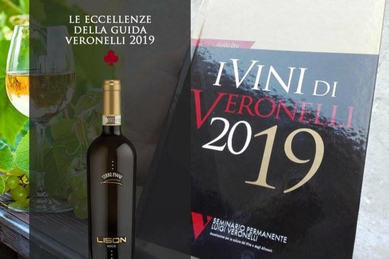 Il LISON D.O.C.G. è stato inserito nella prestigiosa Guida Veronelli 2019