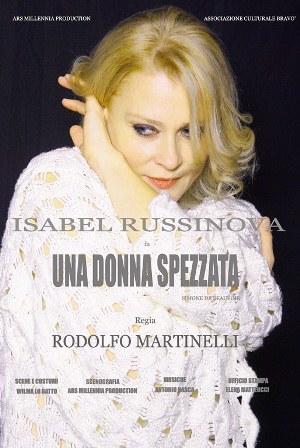 """""""Una donna spezzata"""" di Isabel Russinova alla Festa della Poesia e della Letteratura"""