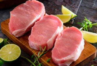 Carne suina: crollo dei prezzi