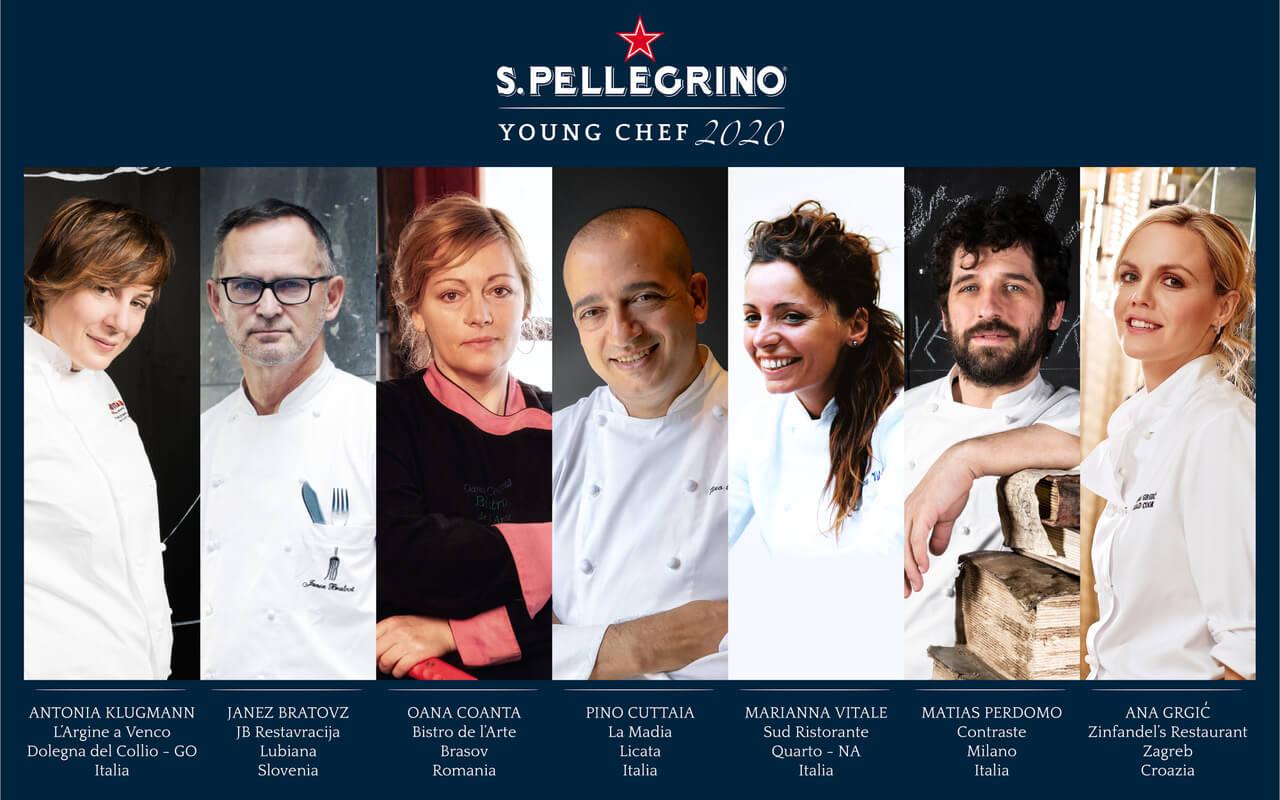 S.PELLEGRINO YOUNG CHEF 2020:  ANNUNCIATA LA GIURIA DELLA FINALE REGIONALE ITALIA E SUD EST EUROPA