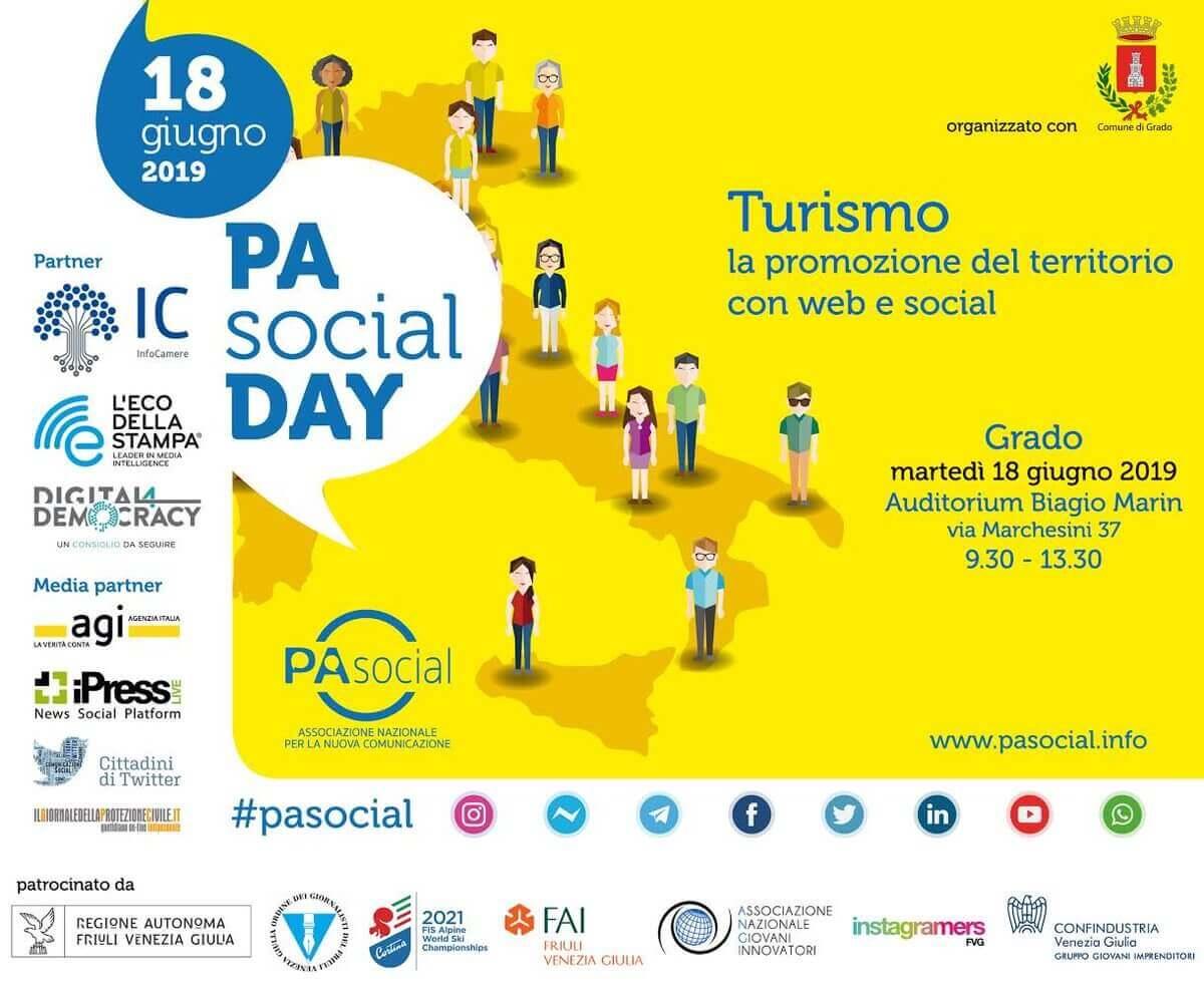 MARTEDÌ 18 GIUGNO 2019 ore 9.30-13.30 – GRADO | FVG – PA Social Day