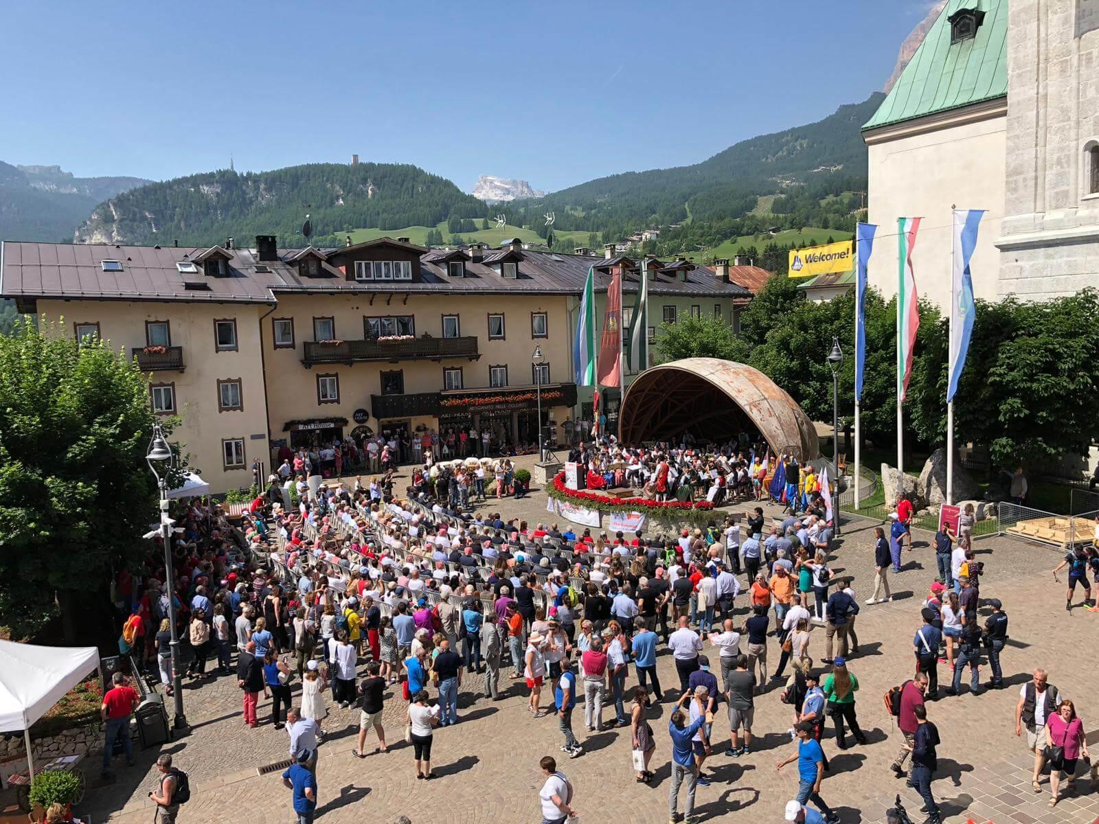 Dieci anni di Dolomiti UNESCO: da Cortina d'Ampezzo parte la festa