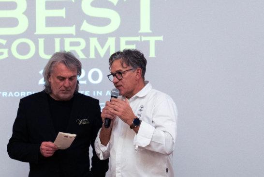 Maurizio Potocnik e lo chef Ilija Pejic