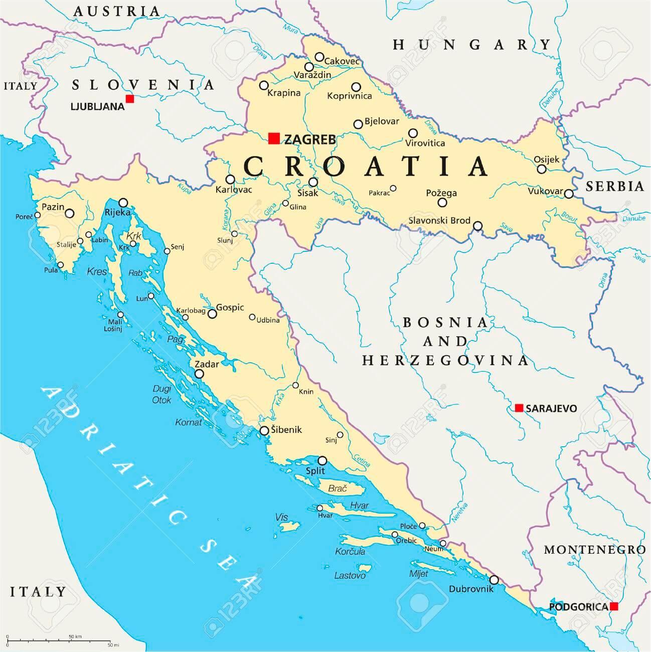 CROAZIA – EMERGENZA COVID-19 : Nuove misure adottate dalle Autorità croate