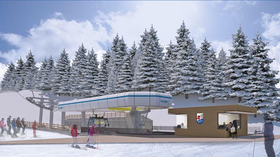 Cortina resta a casa ma guarda al futuro: assegnati i lavori per la nuova cabinovia Tofane – 5 Torri