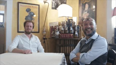 Intervista a Giuliano Patriarca Titolare de Alla Frasca, Siacco di Povoletto, Ud, A cura di Roberto Pedi
