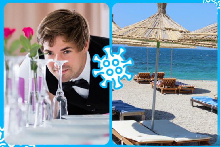 www.inail.it-12/05/2020  Covid-19, online i documenti tecnici per la gestione della fase 2 nei settori della ristorazione e della balneazione