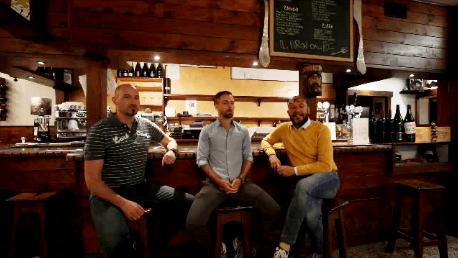 Intervista a Cristian Turoldo e Matteo Romanelli Titolari Osteria Piron Dal Re, Zompicchia