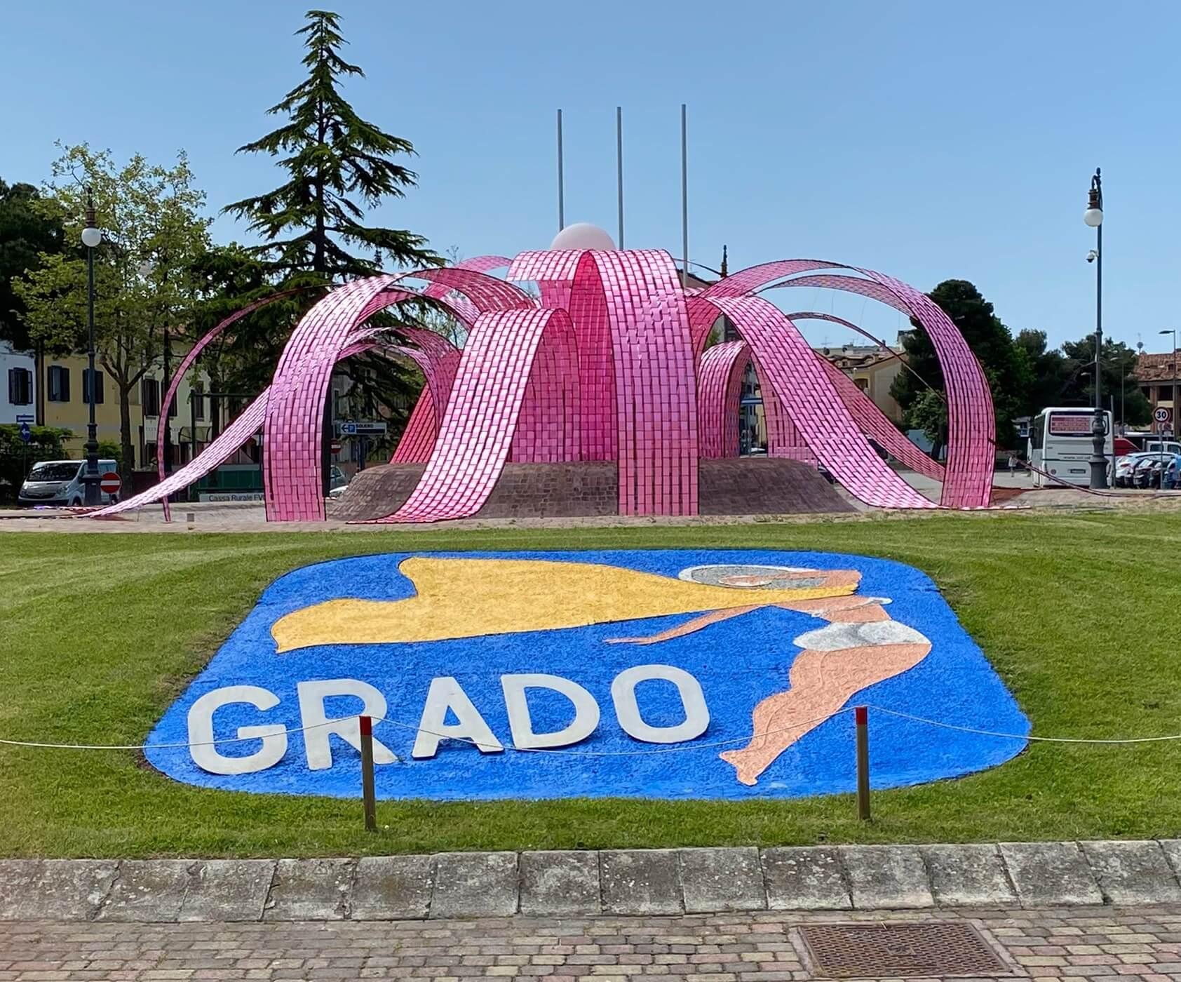 """Grado diventa """"Isola della Ciclabilità"""" in attesa della Tappa del Giro d'Italia"""
