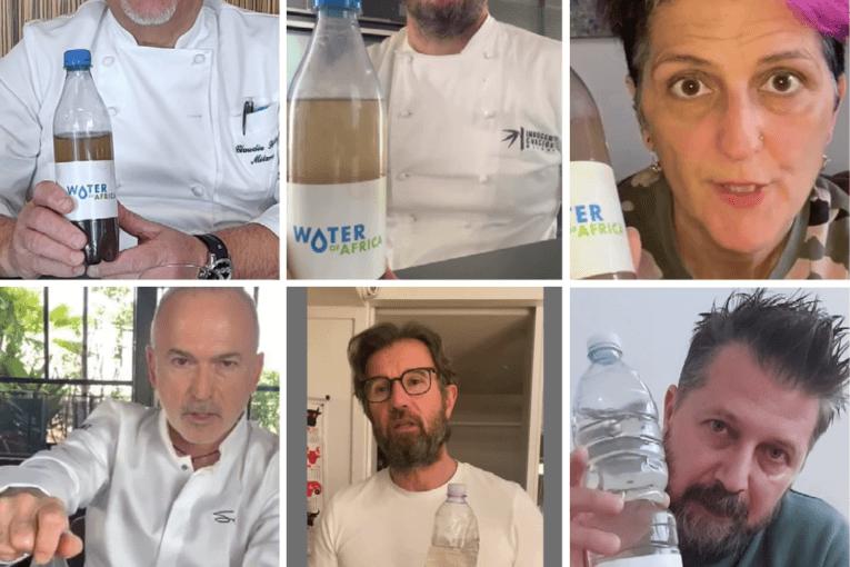 Cracco, Sadler, Bowerman e altri chef in azione contro la fame