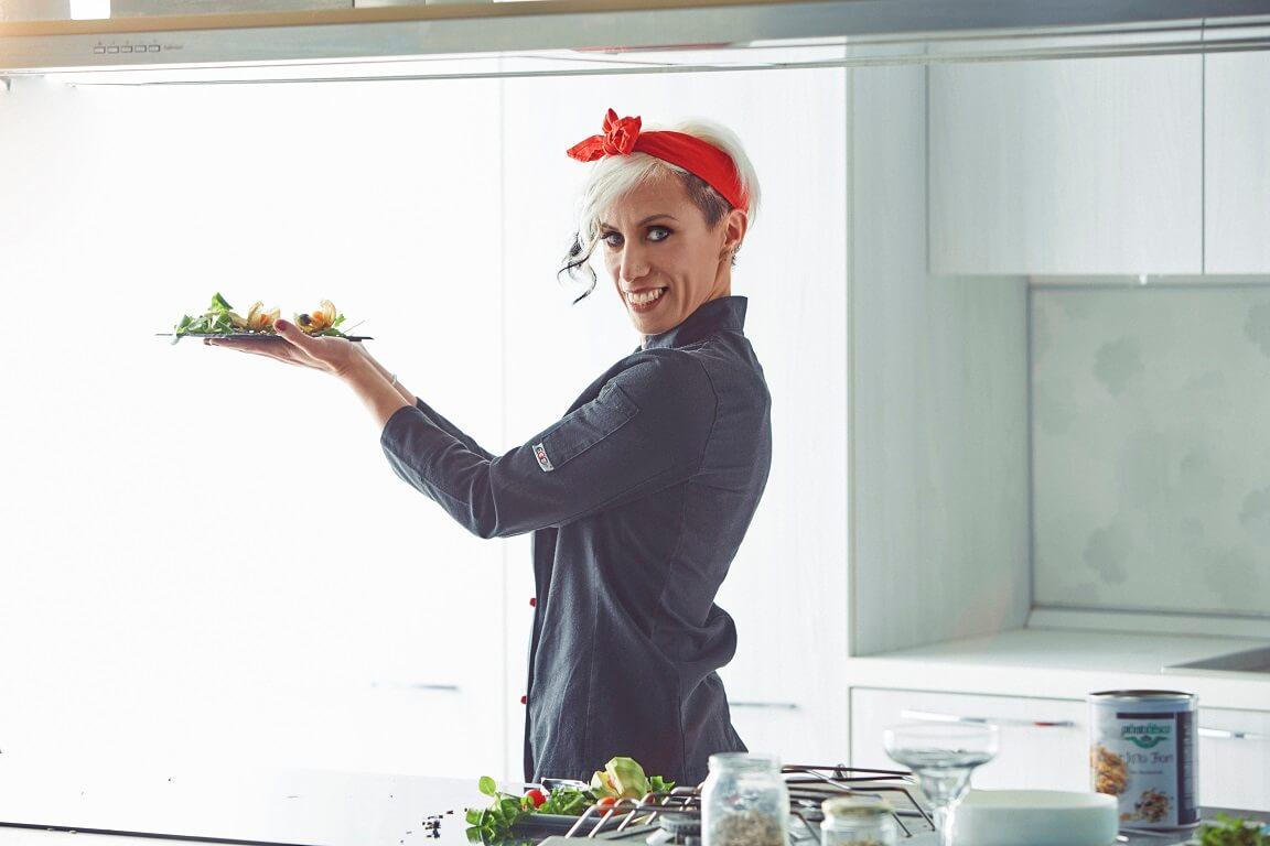 Paola Di Giambattista è il primo chef nutraceutico d'Italia