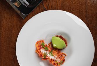 Valerio Braschi, WMF e il World Pasta Day: gli spaghetti dolci